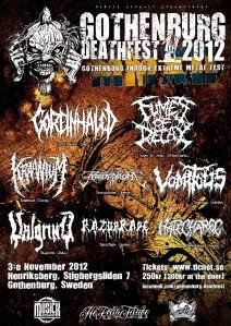 Gothenburg Deathfest 2012