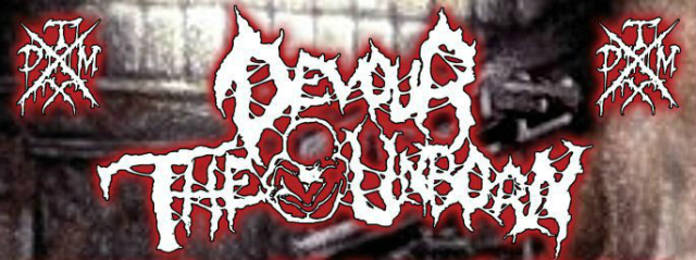 Devour The Unborn ad header