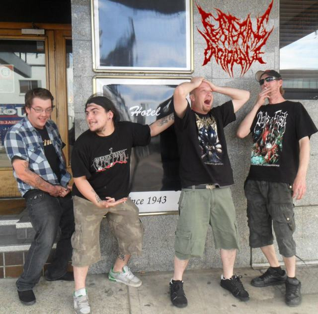 Festering Drippage band